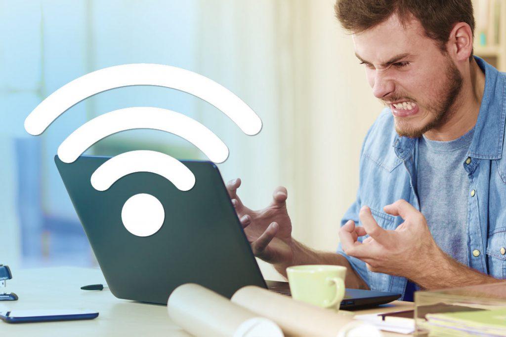 Angry wifi user